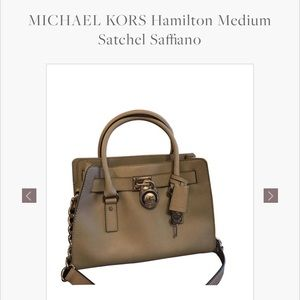Michael michael Kors Saffiano leather tote.